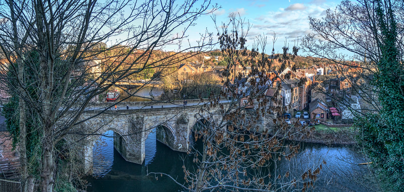 Elvet Bridge over River Wear - Durham