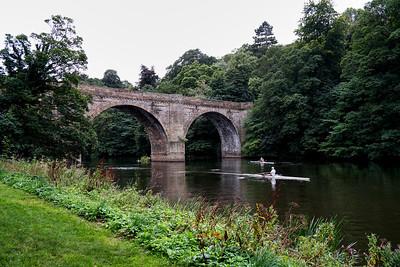 Prebends Bridge over the River Wear in Durham
