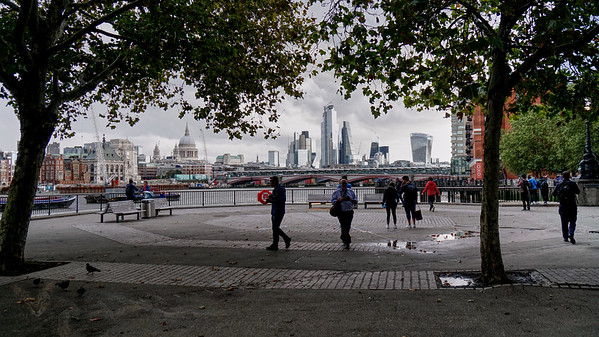 View from The Southbank - 2019