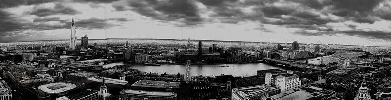 Panorama From St Paul's Cathedral