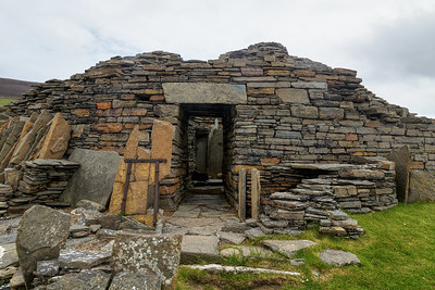 Midhowe Broch - Rousay - Orkney