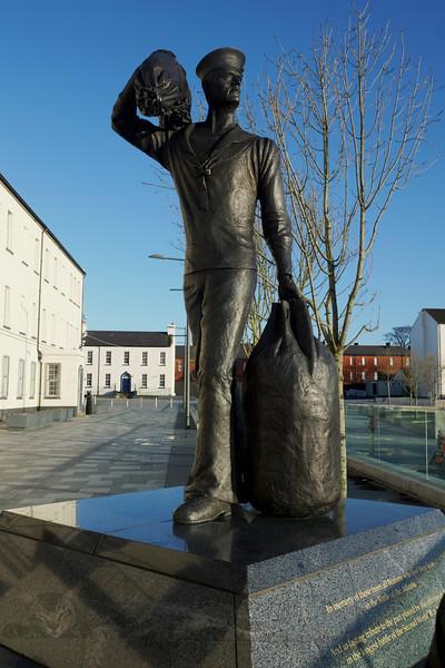 International Sailor Statue - Derry