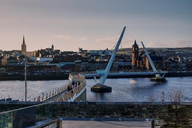 Peace Bridge - Derry - Ulster