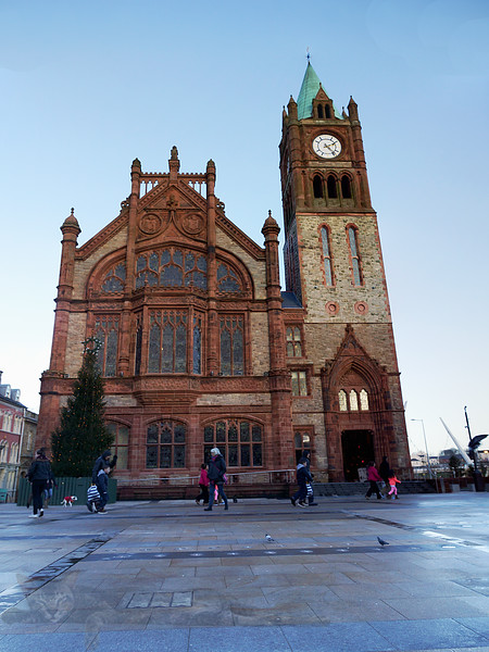 Derry Guildhall / Town Hall