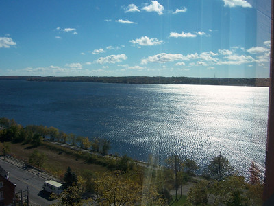 View of Kempenfelt Bay in Fall 2010