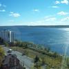 View of Kempfelt Bay - Fall 2010 - (white bldg is The Flamenco)
