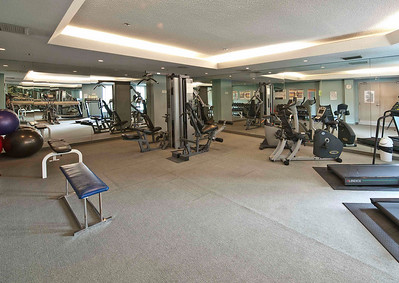 Gym - located on 2nd floor - situated between the East and West Tower