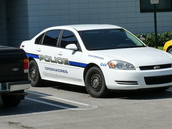 Greenacres Police Squad Car
