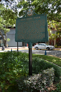 Old Hyde Park Historical Marker