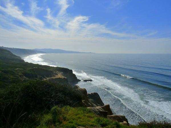 Ocean cliff