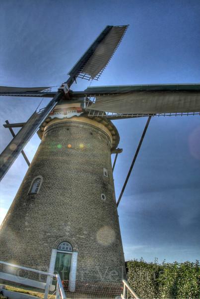 Windmill at Kinderkijk, Netherlands