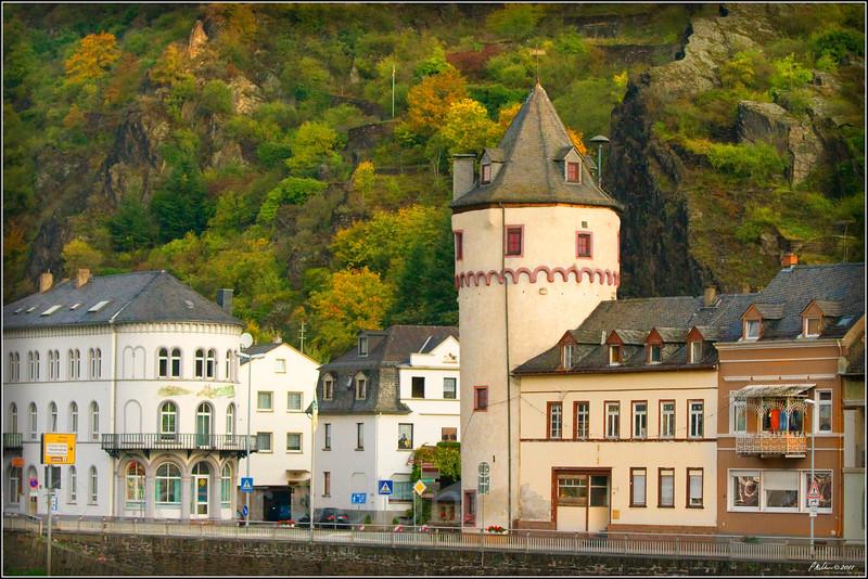 Along the Rhine river bank