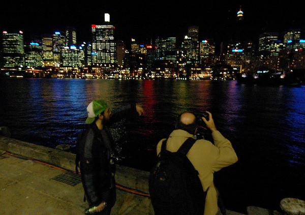 2006 05 Sydney City night shoot