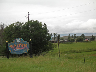 Welcome to Walden, CO.