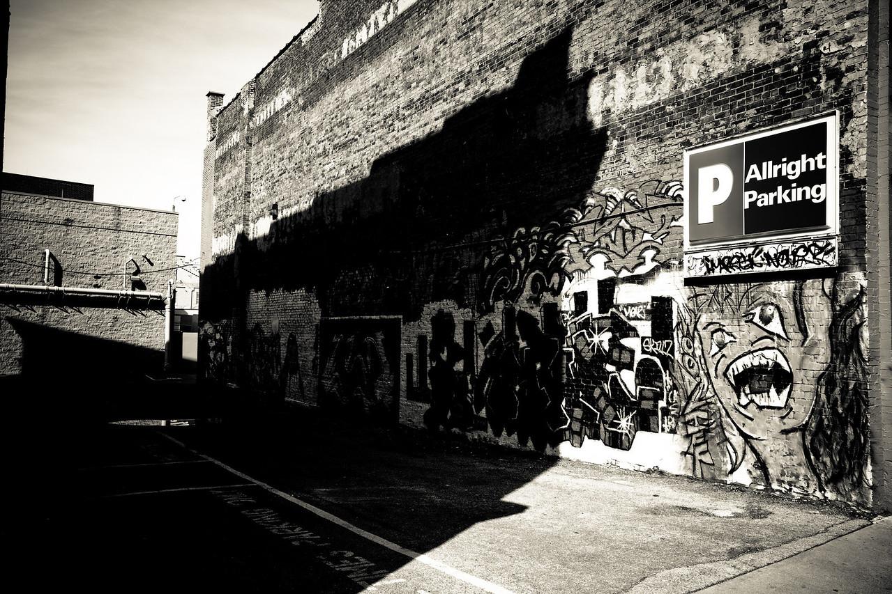 Graffiti Roanoke VA.  20100326-IMG_5329