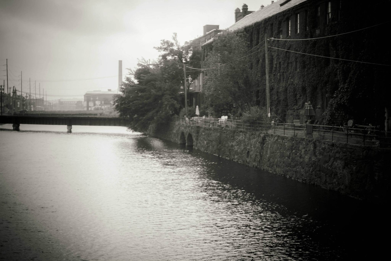 Canals, Holoke, MA. test for a film