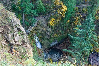Multnomah fall area