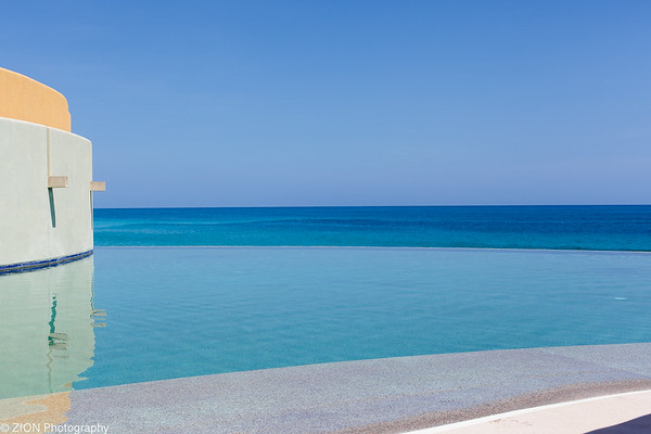 A pool in Cabo San Lucas