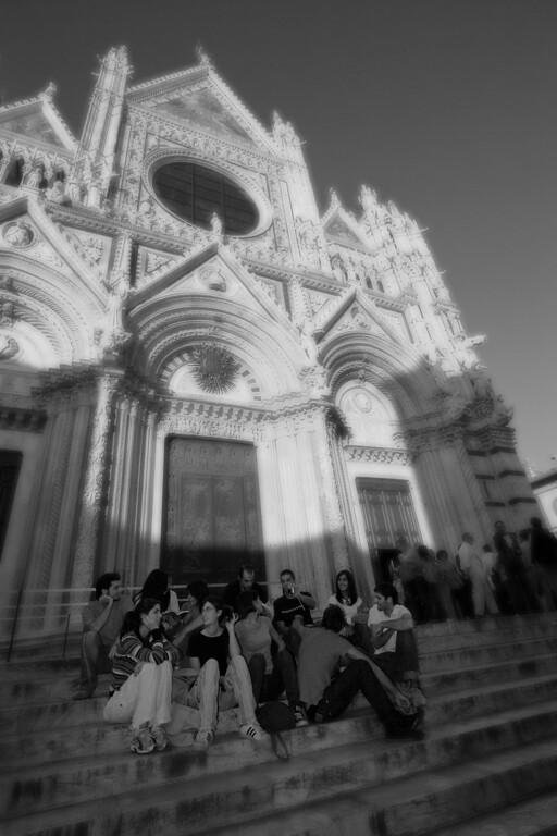 Duomo steps, Siena