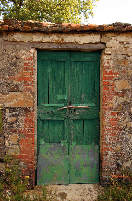 Shed door, Seggiano