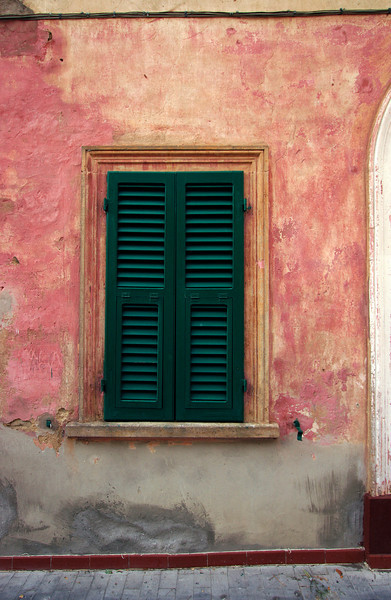 Shuttered window, Seggiano