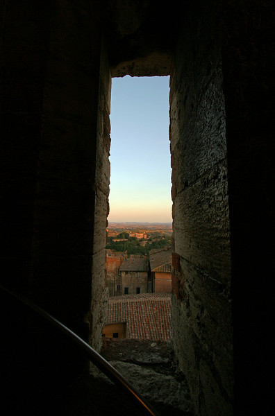 Tower view, Siena