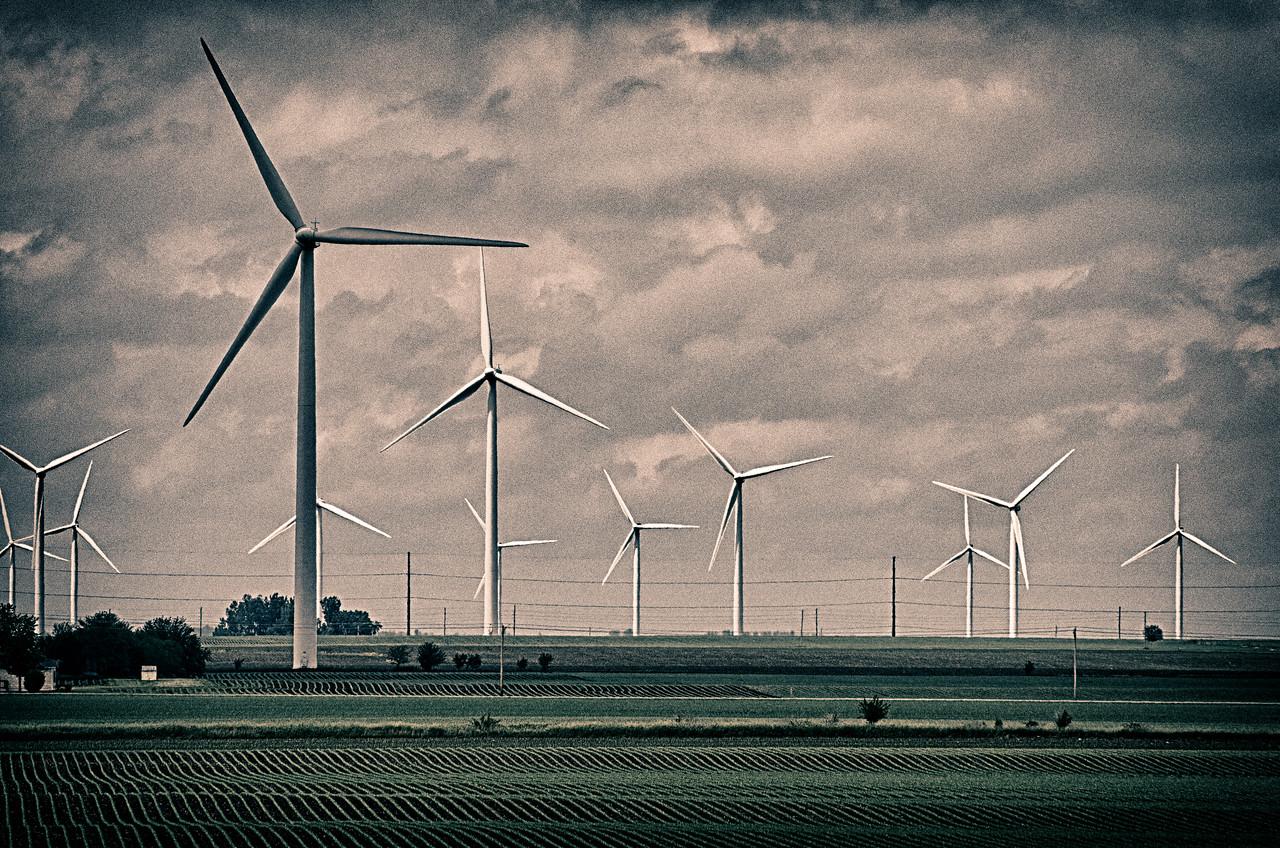 Wind farm 8986