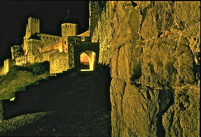 21  Carcassonne at night