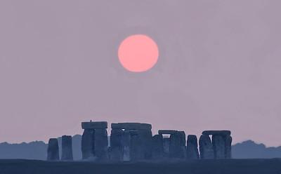 28  Stonehenge sunset