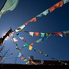 Suhe outside Lijiang, has this Tibetan monastery/temple. Had a short talk with some really cool guys (but no picture of them as I was earlier told buy a lady not to take pictures in here) Outside was ok and these Tibetan prayer flags took me back to Tibet many many years ago..