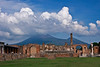 Pompeii Forum and Vesuvius