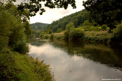 River Wye close to Redbrook 002 (August 2015)