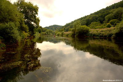 River Wye close to Redbrook 005 (August 2015)