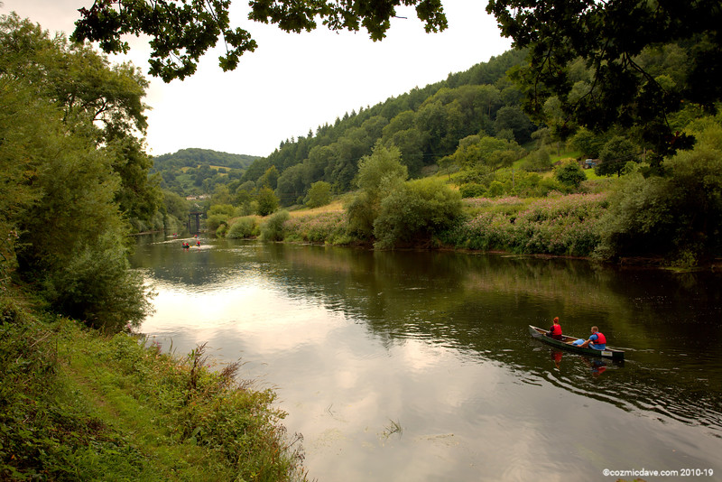 River Wye close to Redbrook 001 (August 2015)