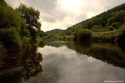 River Wye close to Redbrook 006 (August 2015)