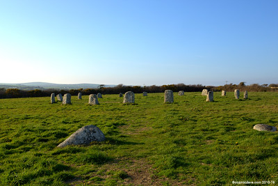 Merry Maidens Stone Circle (April 2015)