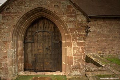 St. Cuthbert's Church door Entrance