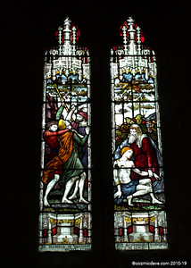 Window, St. Cuthbert's Church, Holme Lacy