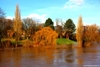 River Wye at Ross On Wye 008 (February 2014)