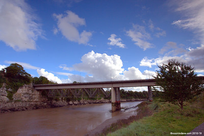 River Wye at Chepstow 001 (October 2014)