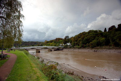 River Wye at Chepstow 002 (October 2014)