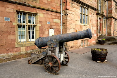 Cannon at Monmouth Regimental Museum