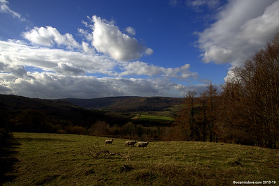 View from St. Briavels looking at Wye Valley