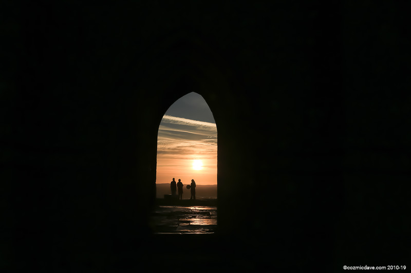 Sunrise taken from Glastonbury Tor 011