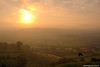 Sunrise taken from Glastonbury Tor 031