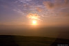 Sunrise taken from Glastonbury Tor 030