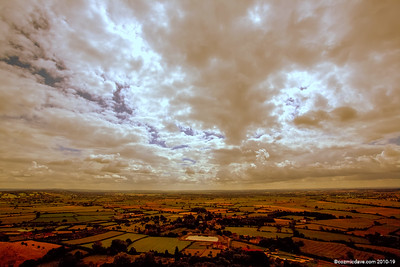 Views from Glastonbury Tor 001 (August 2014)