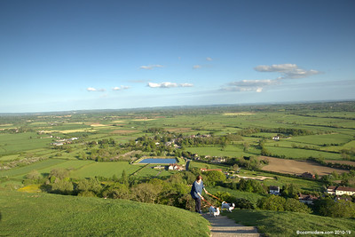 Views from Glastonbury Tor 109