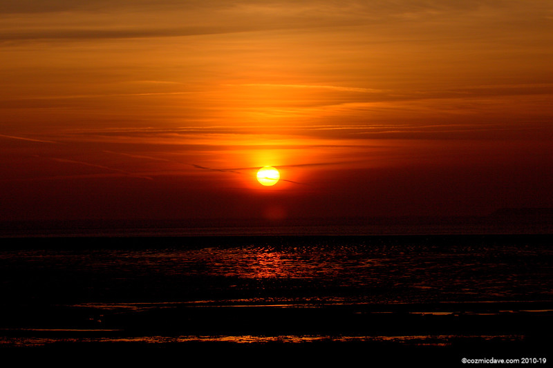 Sunset, Sand Bay
