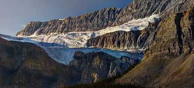 Crowfoot Glacier, Jasper National Park, Ca